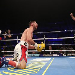 BACK TO BUSINESS PROMOTIONECHO ARENA,LIVERPOOLPIC LAWRENCE LUSTIGCommonwealth Lightweight ChampionshipSEAN DODD  v TOMMY COYLE